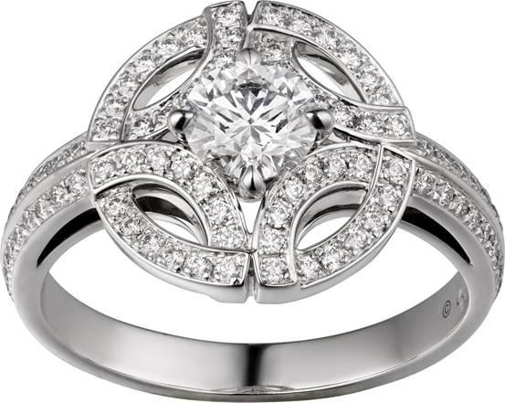 图5:Galanterie de Cartier系列戒指