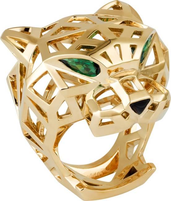 图8:Panthère de Cartier系列戒指