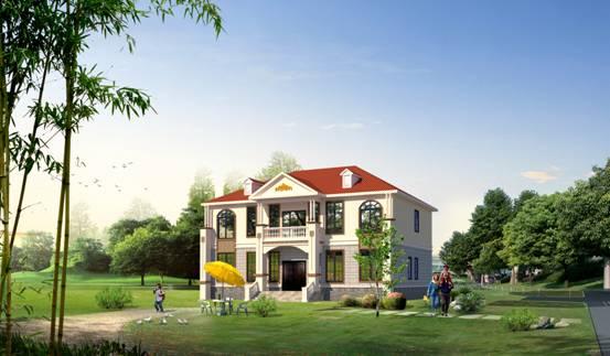 典御名家轻钢别墅 享受自然的美